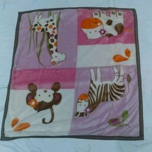 🇺🇸2 set of Baby'R Us Baby Girls Blankets